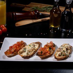 BRUSCHETTE MISTE - Meniu Restaurant IL PADRINO Baia Mare