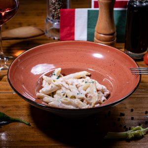 PENNE al SALMONE - Meniu Paste & Spaghete - IL PADRINO Baia Mare