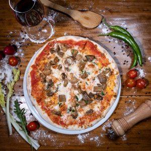 PIZZA FUNGHI PORCINI - IL PADRINO Baia Mare