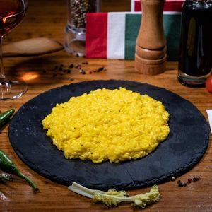 RISOTTI alla MILANESE - Restaurant IL PADRINO Baia Mare